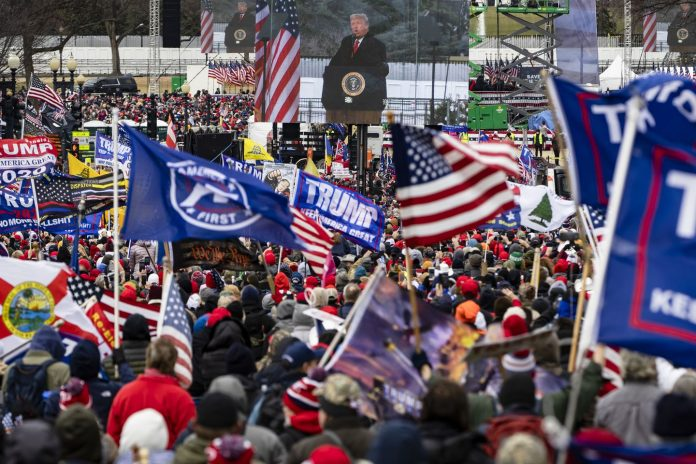 Donald Trump Supporters Invade Capitol Hill