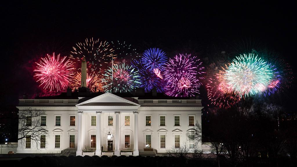 fireworks Joe Biden Continent Times